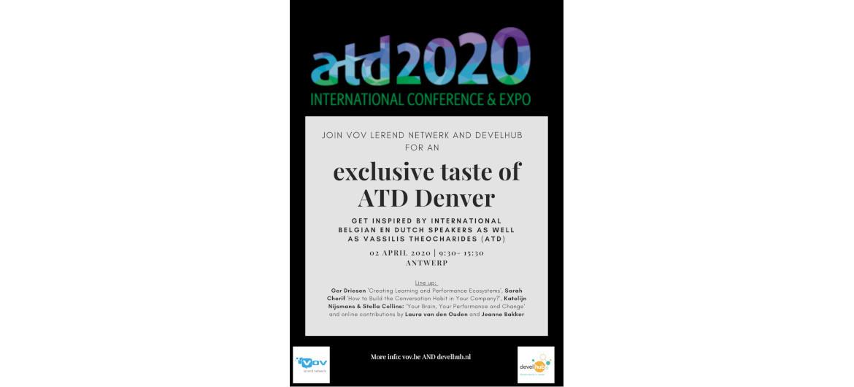 An Exclusive Taste Of Atd Denver In Antwerp Klein
