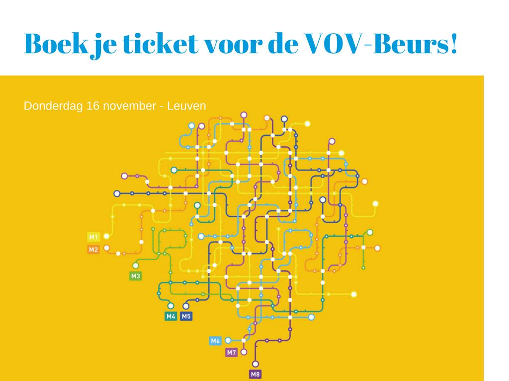 Boek Je Ticket Voor De Vov Beurs