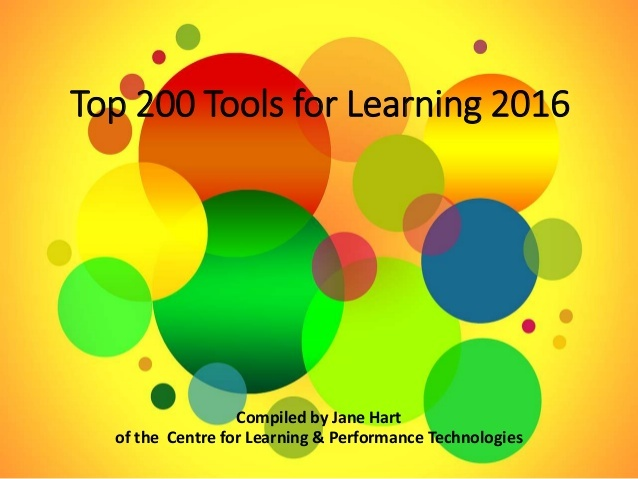Top 200 Tools For Learning 2016 1 638